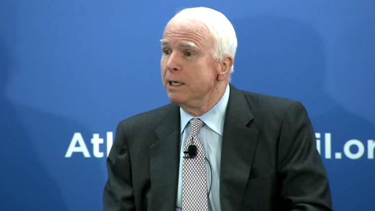 McCain Talks Europe's 'Dirty Secret' With Russia