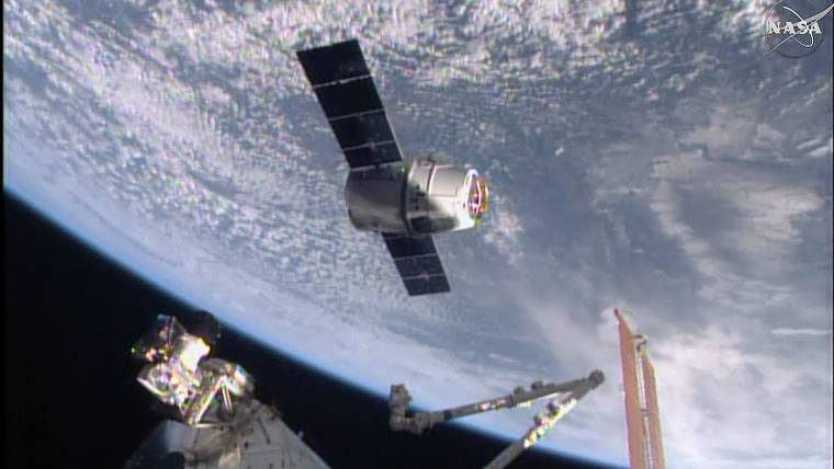 SpaceX Cargo Ship Delivers Coffee and More to Astronauts