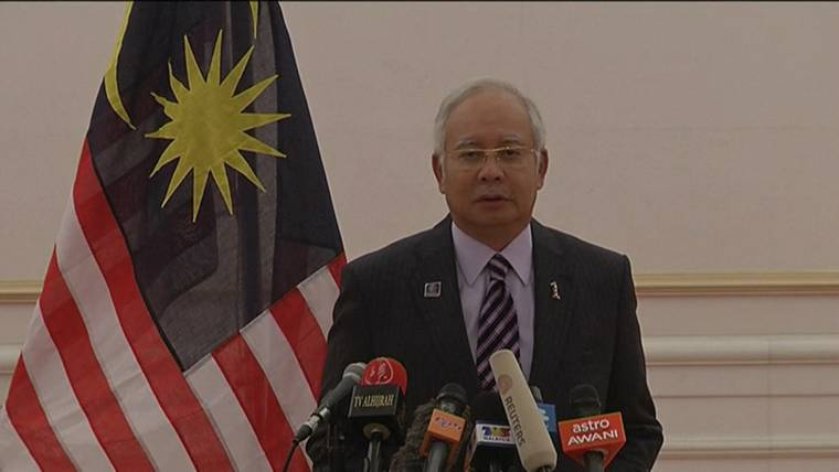 Malaysian PM: MH17 Victims' Remains to Be Given to Netherlands