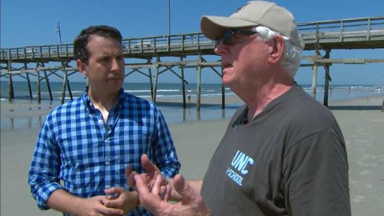 North Carolina Shark Attacks: Witness Says It Was Like a Scene From 'Jaws'