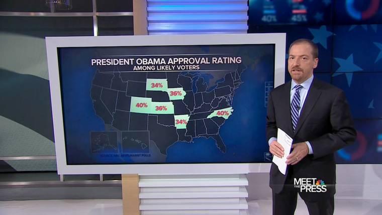 NBC News/Marist Polls Show Tight Contests in Key States