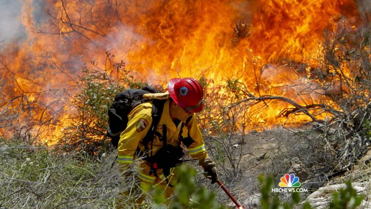 Cooler Air Helping Firefighters Beat Back California Wildfires