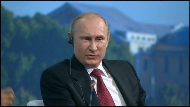 Putin Fires Sharp Jabs at President Obama