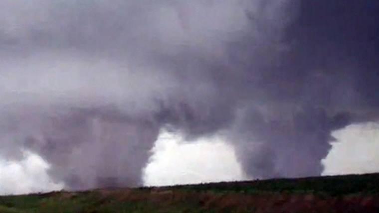 Twin Tornadoes Pummel Northeast Nebraska, Killing One