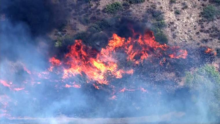 Arizona Wildfire Explodes Out of Control