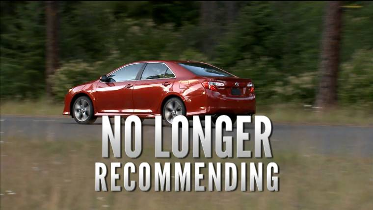 Consumer Reports No Longer Recommends Toyota Camry