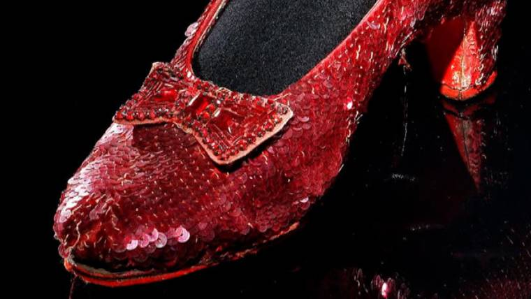 a70a0ebdc Dorothy's ruby slippers one of Smithsonian's 101 historical artifacts