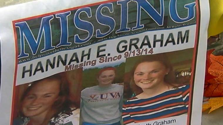 Remains Found in Search for Missing UVA Student Hannah Graham