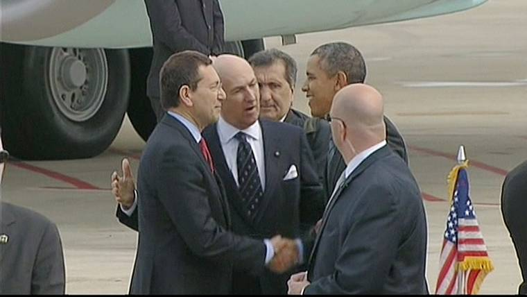 Obama Set to Meet Mideast Ally King Abdullah of Saudi Arabia