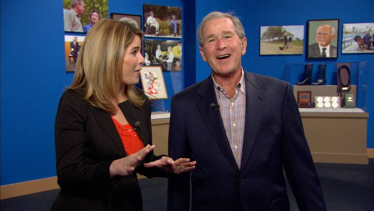 TODAY's Takeaway: George W. reveals paintings; Johnny Depp confirms engagement