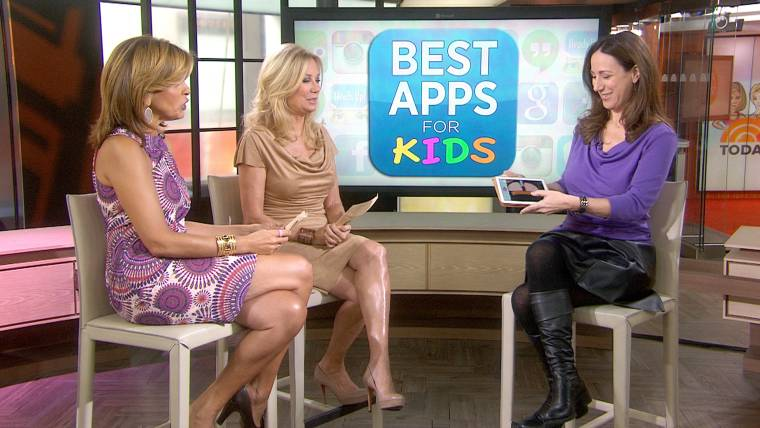 Keep them plugged in: Best four apps for kids of all ages