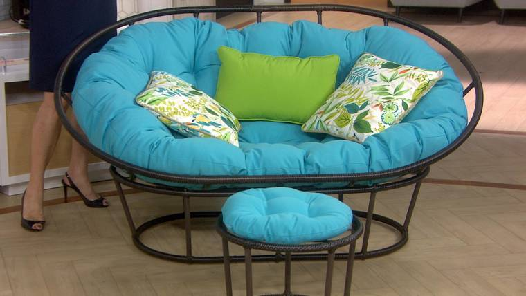 Marvelous Give It Away 5 Fourth Hour Viewers Win Outdoor Papasan Chairs Onthecornerstone Fun Painted Chair Ideas Images Onthecornerstoneorg