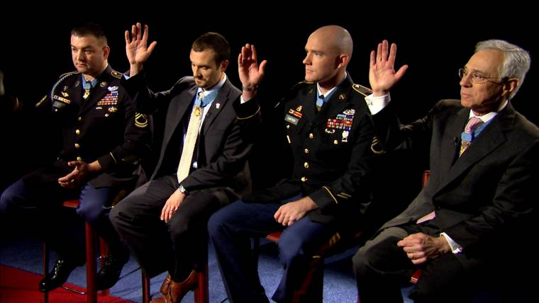 Medal of Honor recipients talk meaning of award