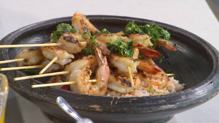 Grilled shrimp, mango salad and more: 'Chopped' judge shares her own winning recipes
