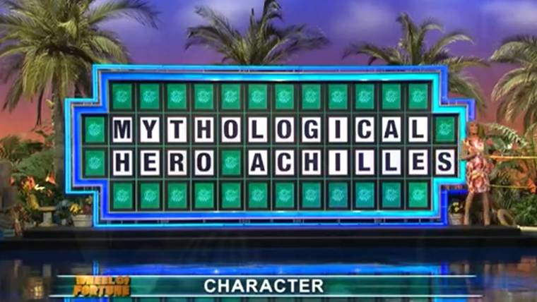 Same Letter Wheel Of Fortune.College Student Loses Wheel Of Fortune Puzzle With All Letters