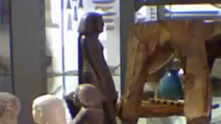 Pharaoh's curse: Why that ancient Egyptian statue moves on its own