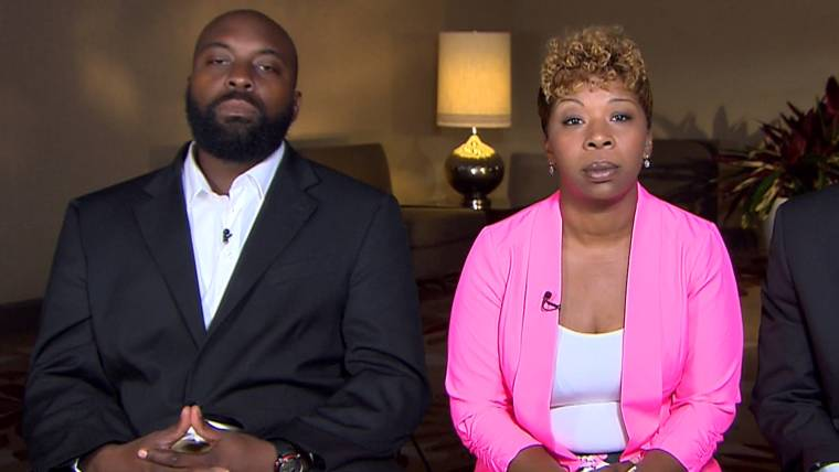 Michael Browns Mom Justice Will Bring Peace To Ferguson