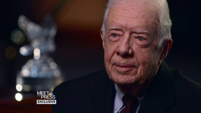 Carter Says Obama Doesn't Call Him For Advice