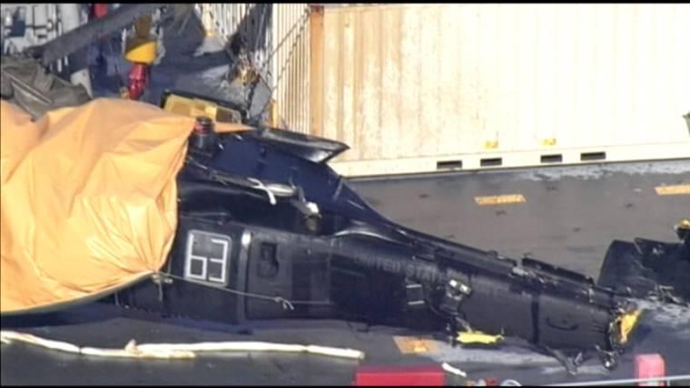U.S. Military Helicopter Crashes Off Japan's Okinawa; 7 Injured