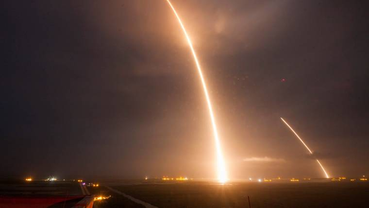 SpaceX Makes History: Falcon 9 Launches, Lands Vertically
