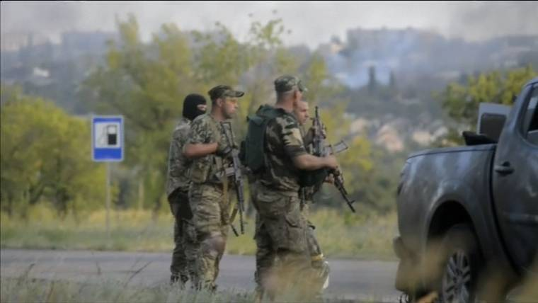 NATO Signals More Sanctions on Russia Amid Fighting in Ukraine