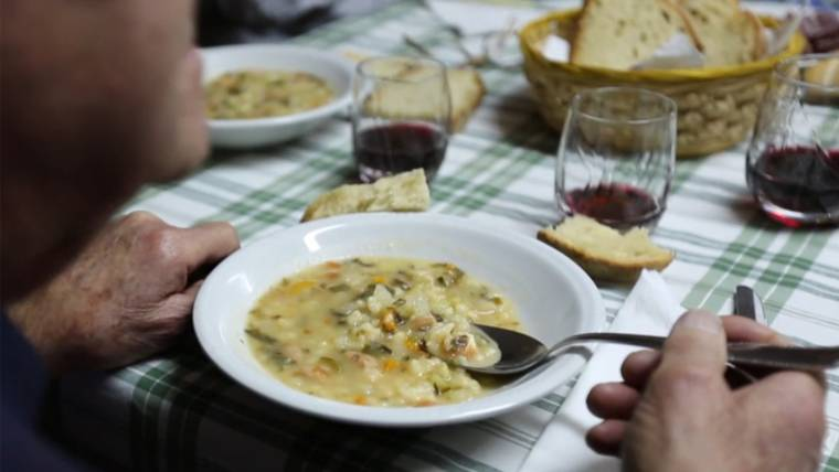 Try the healthy minestrone soup that might just help you live to 100!